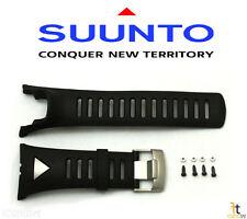 Suunto Ambit Original Black Silver Strap Rubber Watch Band Kit