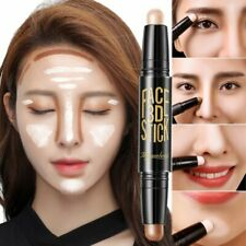 Lady Facial Highlight Foundation Base Contour Stick Beauty Make Up Face Powder