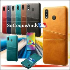 Etui coque DUAL porte cartes Cuir PU Leather case Samsung Galaxy Collection Film