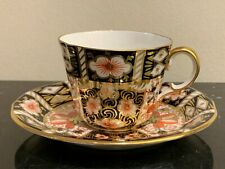 Royal Crown Derby #2451 Traditional Imari Tea Cup and Saucer