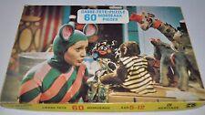 LA SOURIS VERTE vintage PUZZLE  Quebec Children Television - Heritage °