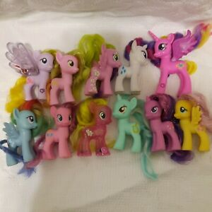 My Little Pony G4 set lot 11 Princess Cadence Rainbow Dash Rainbow dash Water