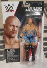 Stone Cold Steve Austin Signed WWE #79 Action Figure BAS Beckett COA Autograph