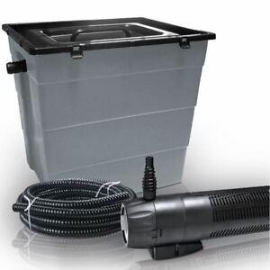 Heissner Teichaußenfilter mit UVC-Pumpe 1000 l/h