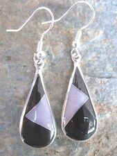 Earrings Fair by Artcamp e2066 Stone Mosaic Inlay Earrings Mexican Handcrafted