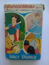 DISNEY CARDS COLLECTION VINTAGE Heraclio Fournier Figures Toys Complete set Deck