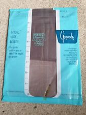 Vintage grey stockings size 9.5 fine sheer plain knit