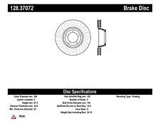 Disc Brake Rotor-GT3 Front Left Centric 128.37072 fits 10-11 Porsche 911