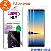 For Samsung Galaxy Note8 9 S9 Screen Protector[5 pack]TPU Defender Full Coverage