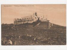 Montevideo Faro y Fortaleza del Cerro Uruguay Vintage Postcard 417a ^
