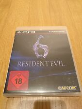 Capcom | Resident Evil 6 | Sony PlayStation 3 | OVP | PS3 Spiel mit Anleitung