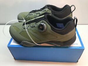 Shimano MT7 Mountain Touring MTB Bike Cycling Shoes Olive Green 40 (US 6.7) New