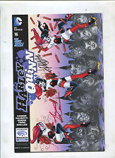 NEW 52 HARLEY QUINN #16 (9.2) 2015 WONDERCON VARIANT SIGNED PALMIOTTI AND CONNOR