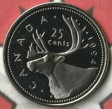 1994 Canada Quarter (25 Cents) Proof- Like- 146,000 Minted
