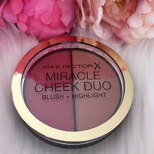 MAX FACTOR  Miracle Cheek  Duo Blush/Highlight 30 DUSKY PINK & COPPER New
