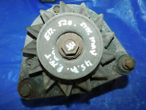 BMW E12 520 E21 320i M10 Engine E3 45 AMP Alternator Damaged Ref Part 1277246 R