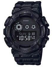 Casio G-Shock * GD120BT-1 Basic Black Texture Digital Resin Watch COD PayPal