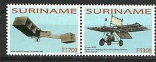 Rep. Suriname - Strip van 2 100 jaar Luchtvaart 2003 pf
