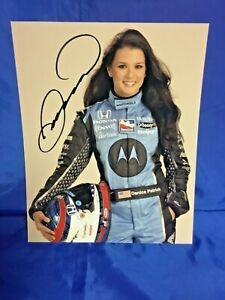 Indianapolis Indy 500 DANICA PATRICK HAND SIGNED Andretti 2007 8x10 Photo NEW