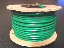 #14 AWG Gauge, 100' Foot, Green, Copper Power Wire, Stranded, Primary MTW New