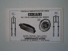 advertising Pubblicità 1972 CERIANI FORCELLE CERCHI SERBATOI