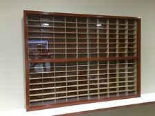 Display case cabinet for 1/64 diecast scale cars (hot wheels, matchbox)-160N2C