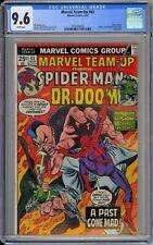 Marvel Team-Up #43 CGC 9.6 NM+ Wp 1976 Spider-Man & Dr. Doom HIGH GRADE COPY