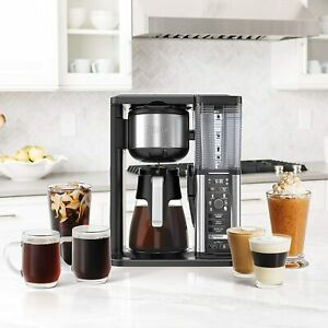 Ninja Specialty Coffee Maker, with Glass Carafe, Black, Stainless Steel