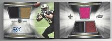 BRANDIN COOKS 2014 TOPPS PRIME LEVEL 3 ROOKIE 5 PIECE PATCH AUTO BOOK RC #D 1/15