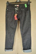 BNWT River Island DISCONTINUED Charcoal Skinny Jeans 8R 8 L32
