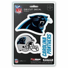 Carolina Panthers Auto Decal NFL Car Sticker Pack of 3