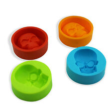 Home Kitchen Silicone Halloween Skull 3D Mould Cake Sugarcraft Baking Mold Decor