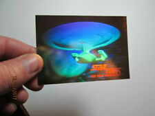 1992 STAR TREK: THE NEXT GENERATION - INAUGURAL EDIT - HOLOGRAM CARD - 05H GOLD