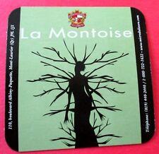 La Montoise Pale Ale - Microbrasserie du Lièvre -  QC Canada  Coaster / Beer Mat