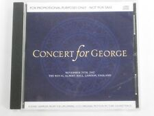 Concert For George - Film Soundtrack 4 track PROMO CD