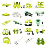 Aluminum Metal Upgrade Parts For 1/12 WLtoys 12428 12423 RC Car DIY Parts green