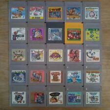 Lot 25 Jeux GAME BOY (DONKEY KONG / CYRAID / MARIO / KIRBY) Japan Nintendo