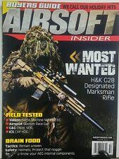 Airsoft Insider Winter 2016 Most Wanted Marksman Rifle Guns FREE SHIPPING sb