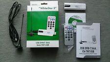 AUVISIO DVB-T Mini-Receiver WhiteStar II USB 2.0 Fernbedienung