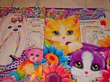 New Lisa Frank Doodle, Design,& Create Coloring Books For Kids Lot Of 2