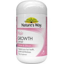 Nature¡¯s Way Hair Growth Support + Biotin & Silicon 30 Tablets Strengthening
