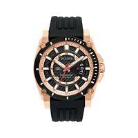 Bulova Mens Watch 98B152 Precisionist Analog Chronograph Stainless Steel Black