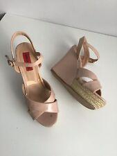 London Rebel Size 5.5 (38) pink Platform/Wedge Sandals