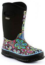 Perfect Storm Kids Cloud High Neoprene Boots, Power Flower Bright Blue