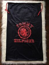 Tommy Hilfiger Red White Blue Spell Out Huge Mesh Garment Laundry Bag
