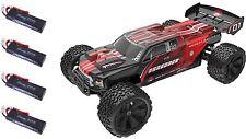 RedCat Racing Shredder 1/6 Truck w/4 4000 Lipo Batteries RTR