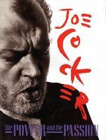 JOE COCKER 1990 POWER & THE PASSION TOUR CONCERT PROGRAM BOOK-NEAR MINT TO MINT