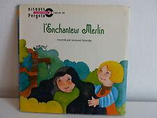 Livre disque L enchanteur Merlin JACQUES LALANDE 6061074 PAF