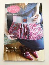 Anna Marie Horner Ruthie Clutch Purse Sewing Pattern, New, Uncut