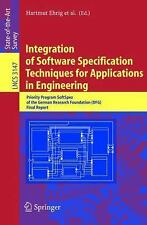 Integration of Software Specification Techniques for Applications in